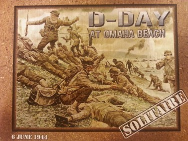 D Day at omaha beach cover