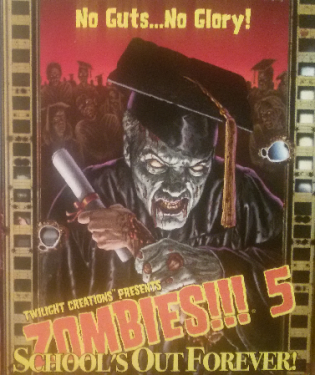 Zombies 5 Cover