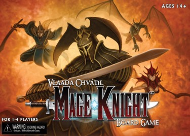 Mage Knight Cover