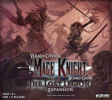 Mage knight Lost Legion