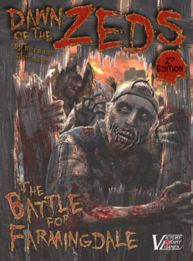 Dawn of the zeds 2nd ed cover