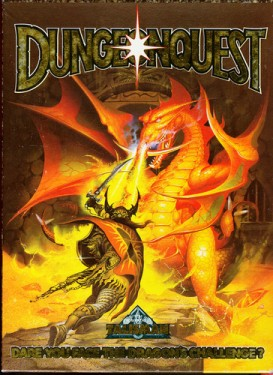 Dungeonquest 1st ed cover