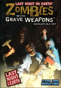 Zombies withgrave weapons
