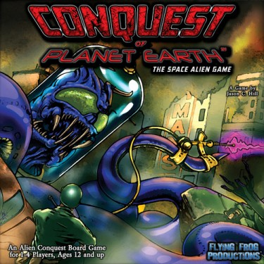 conquest of planet Earth Cover