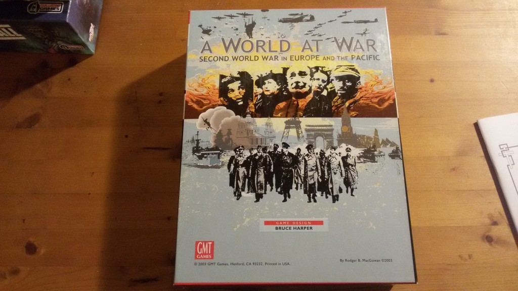 World at war box